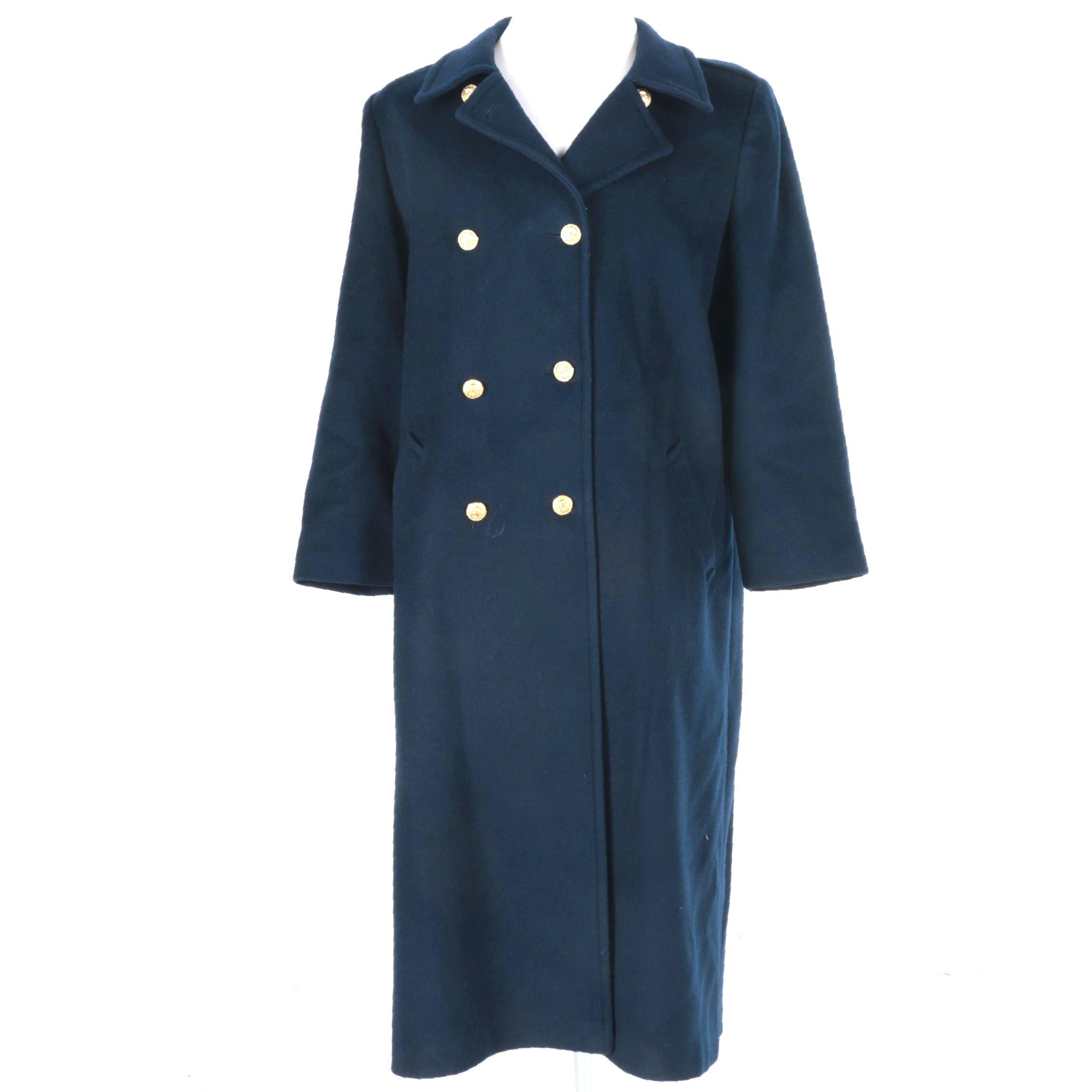 Forecaster of Boston Navy Wool Coat