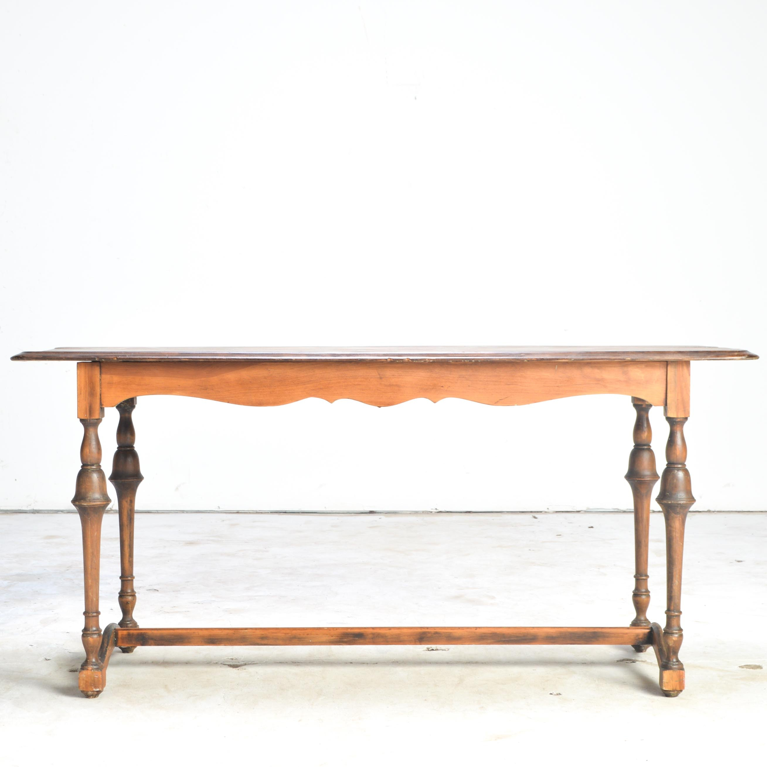 Vintage Console or Library Table