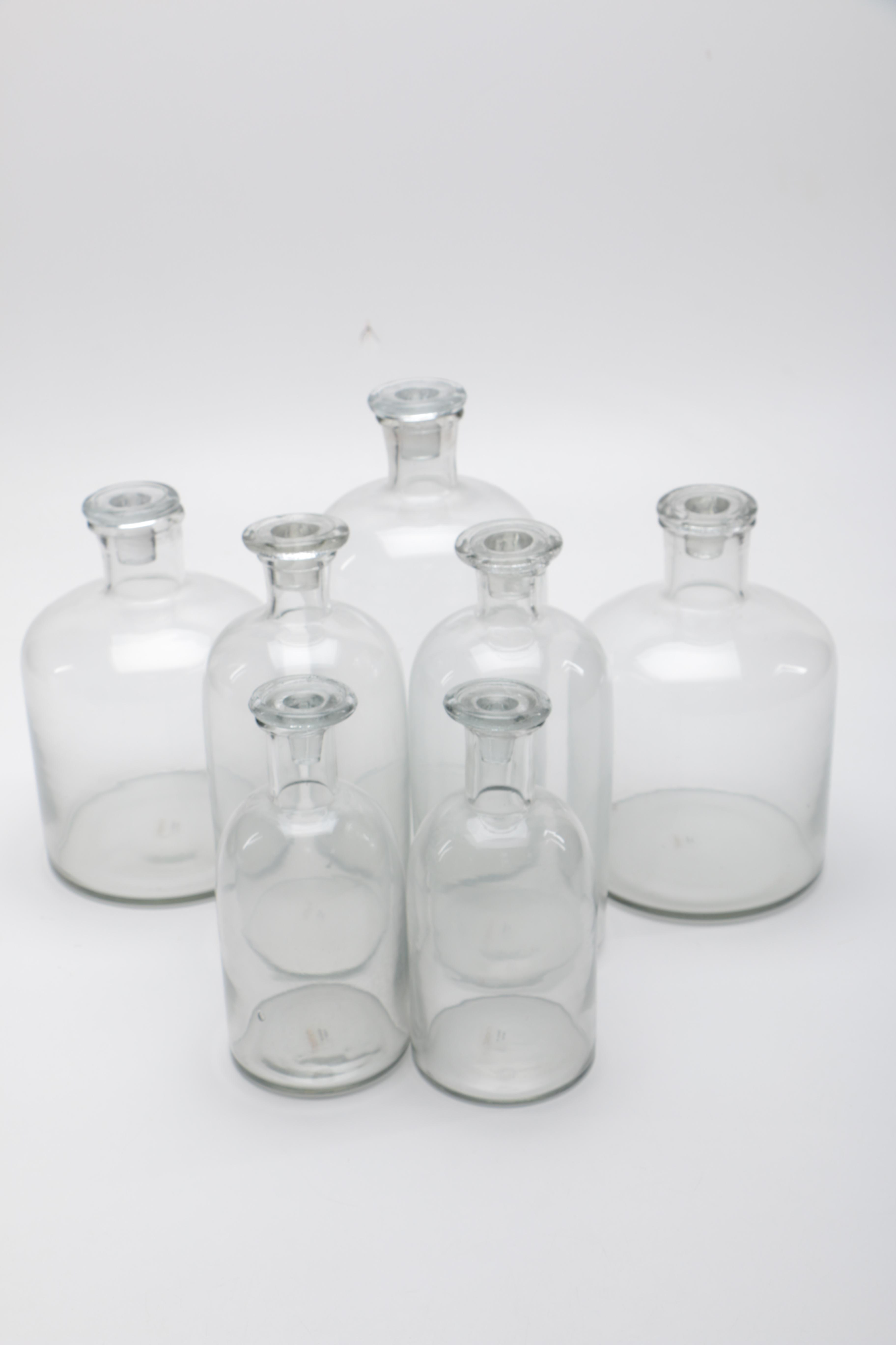 Decorative Apothecary Styled Bottles by Roost