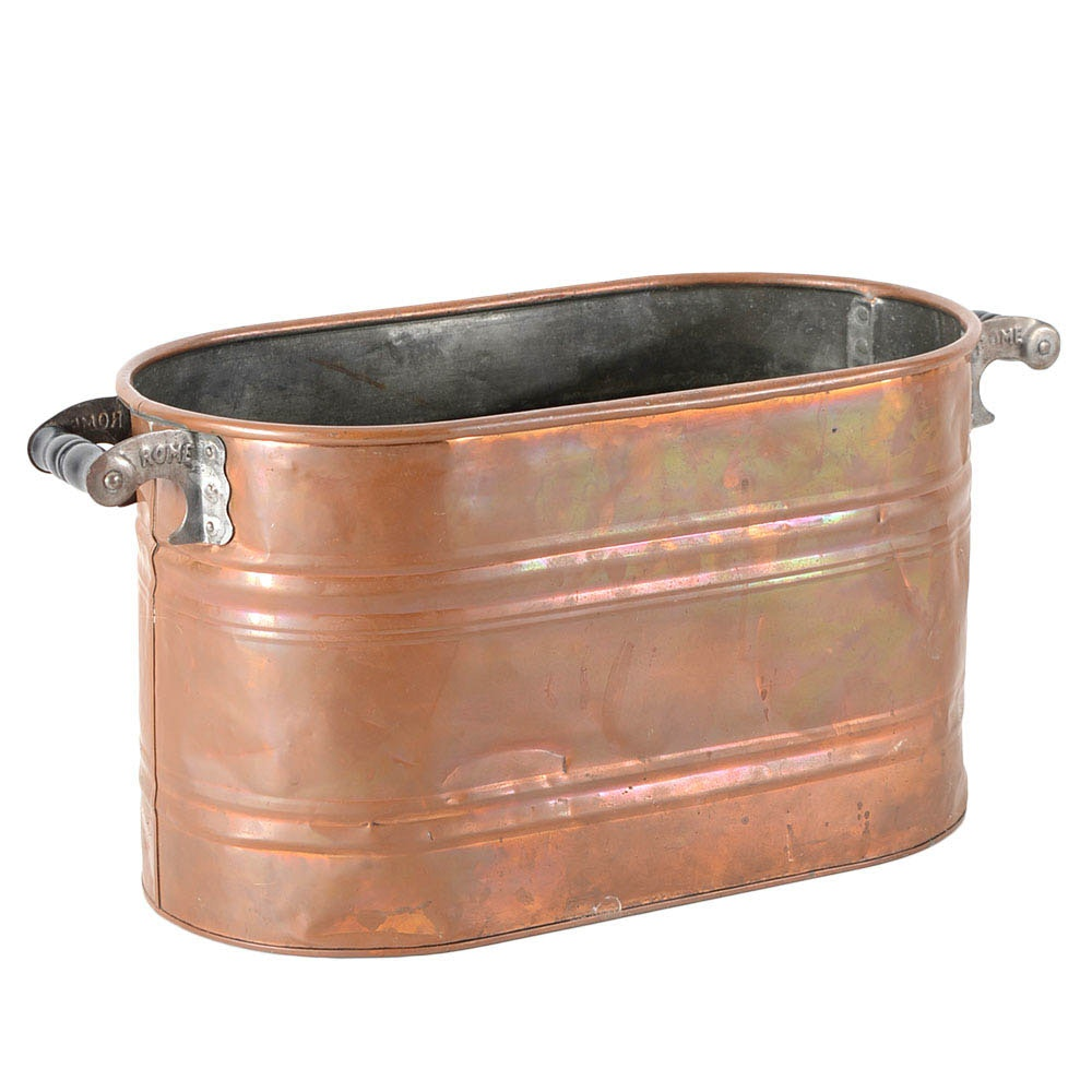 Copper Boiler Tub