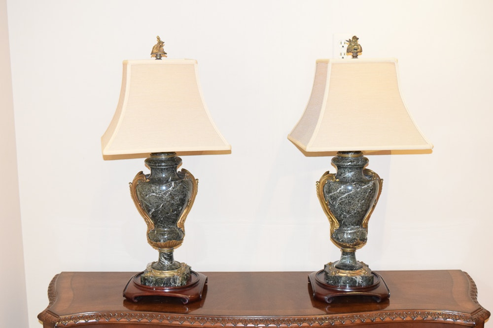 Marble Table Lamps
