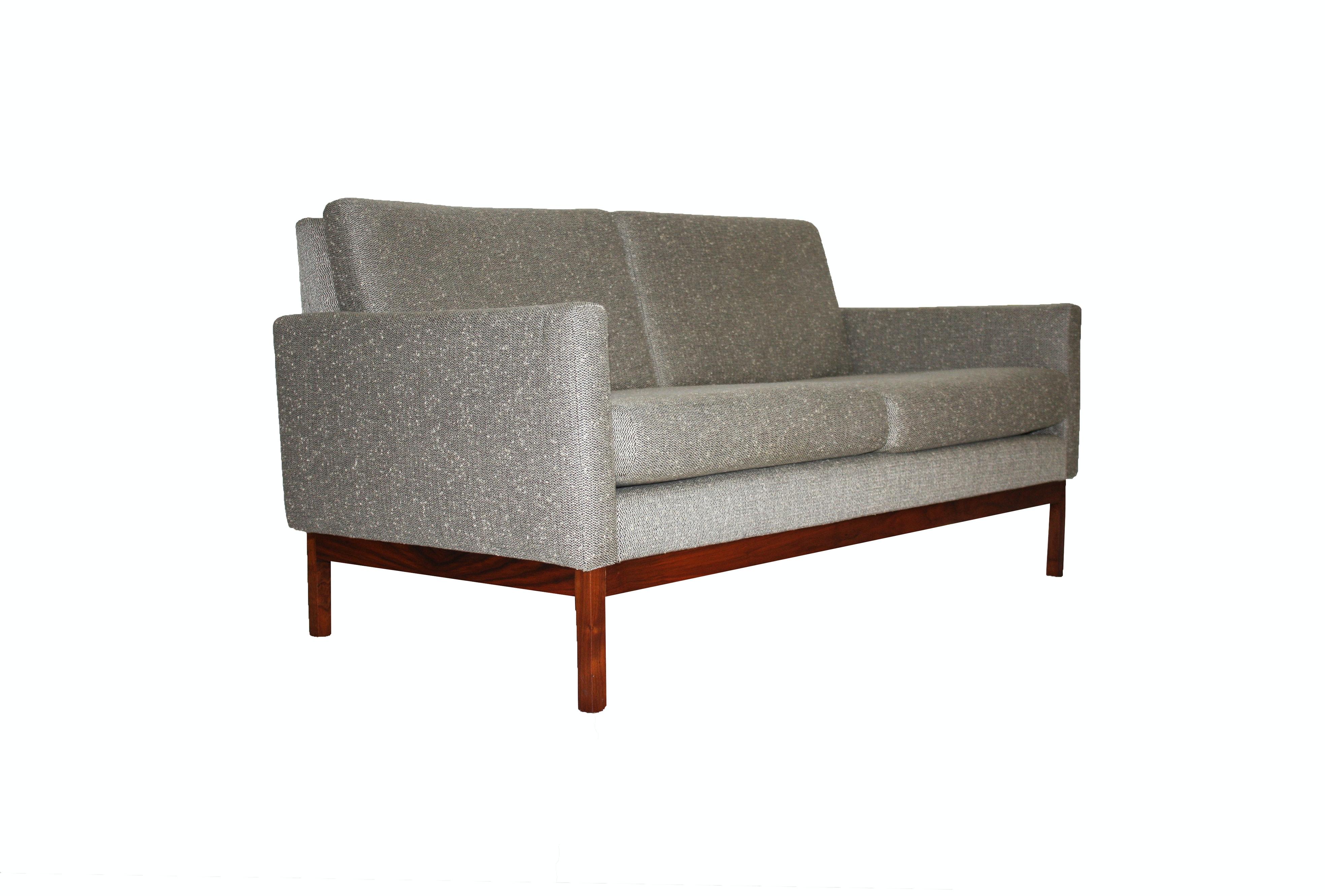Mid Century Modern Style Love Seat