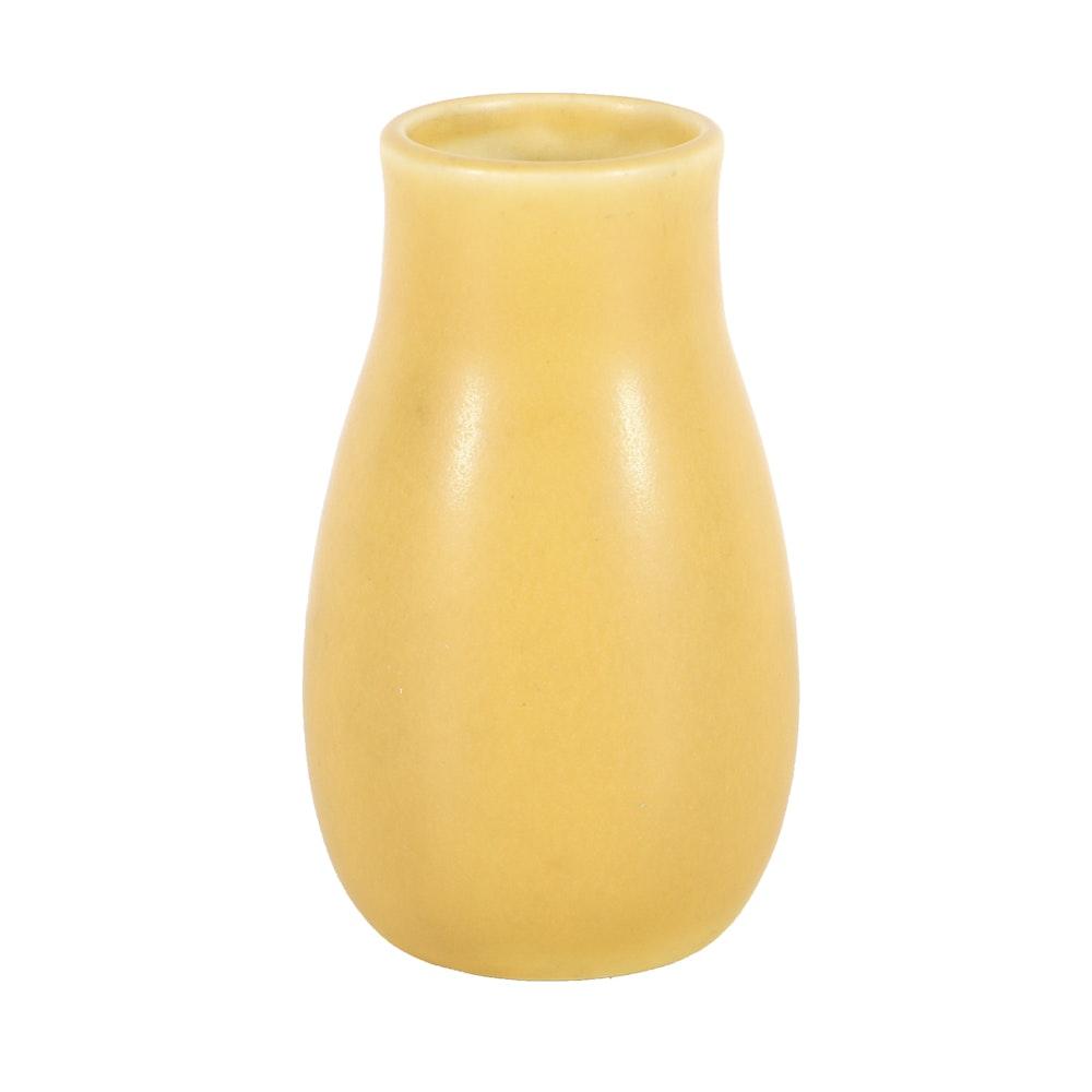 1923 Yellow Rookwood Pottery Vase