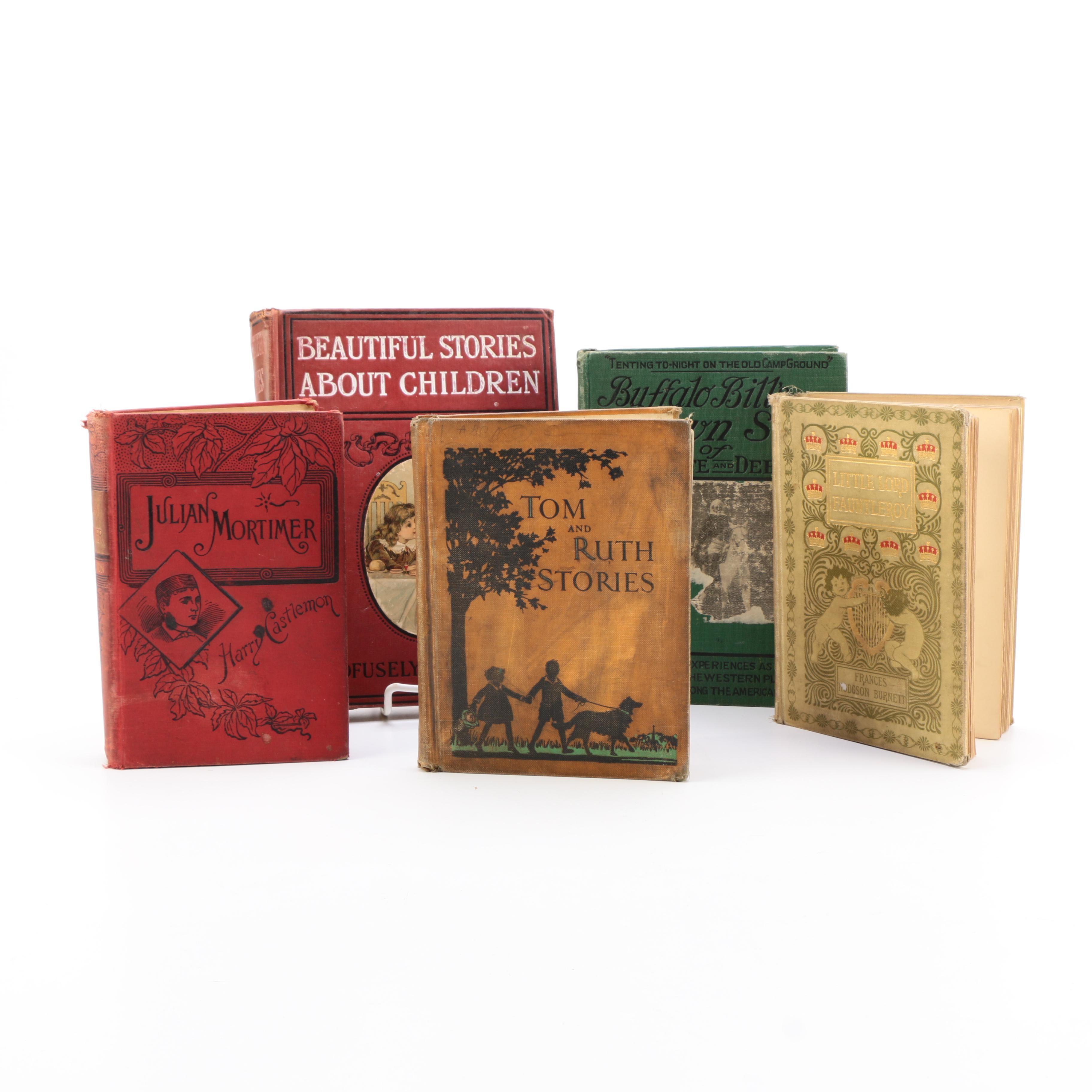 Assortment of Young Reader Novels