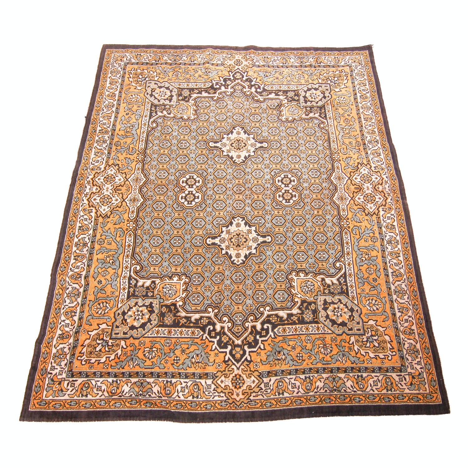Power Loomed Vintage Persian-Style Area Rug