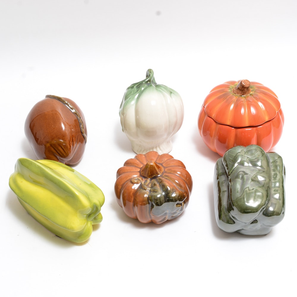 Ceramic Fruit