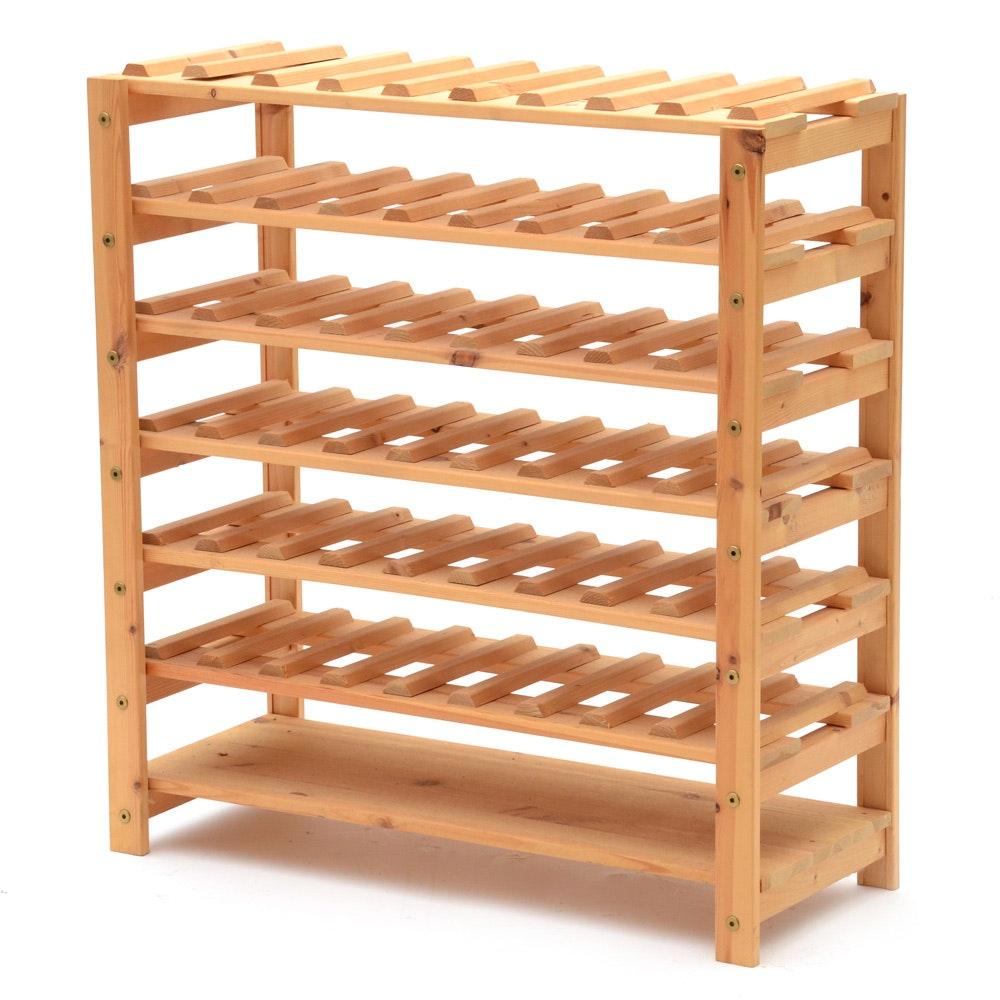 Handcrafted Wine Rack
