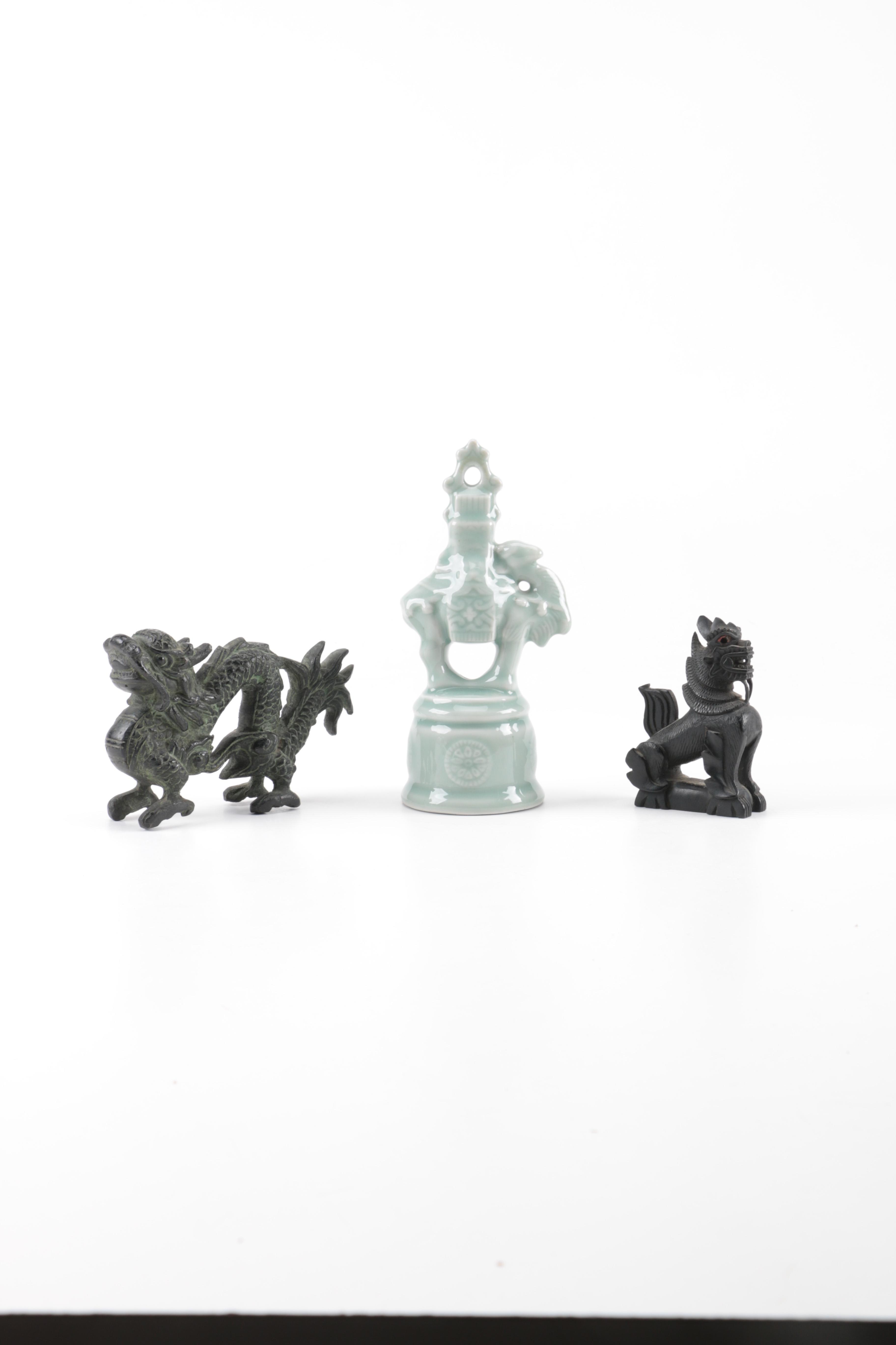 Assorted Dragon Figurines