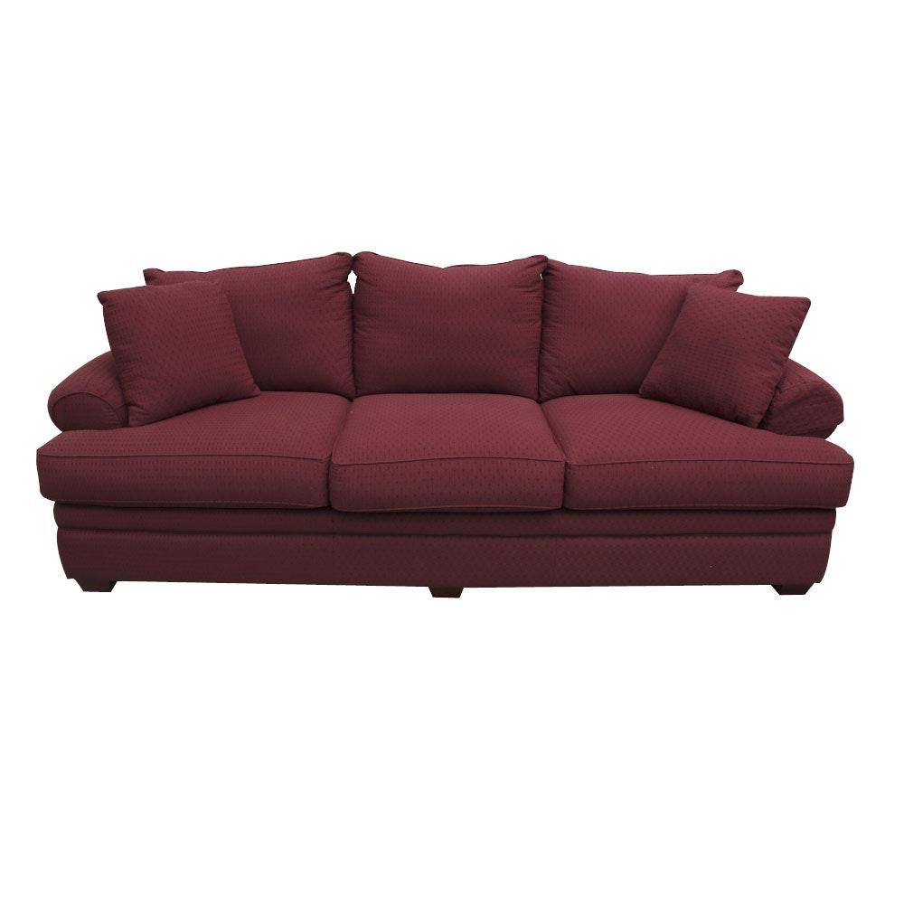 Red Sofa by La-Z-Boy