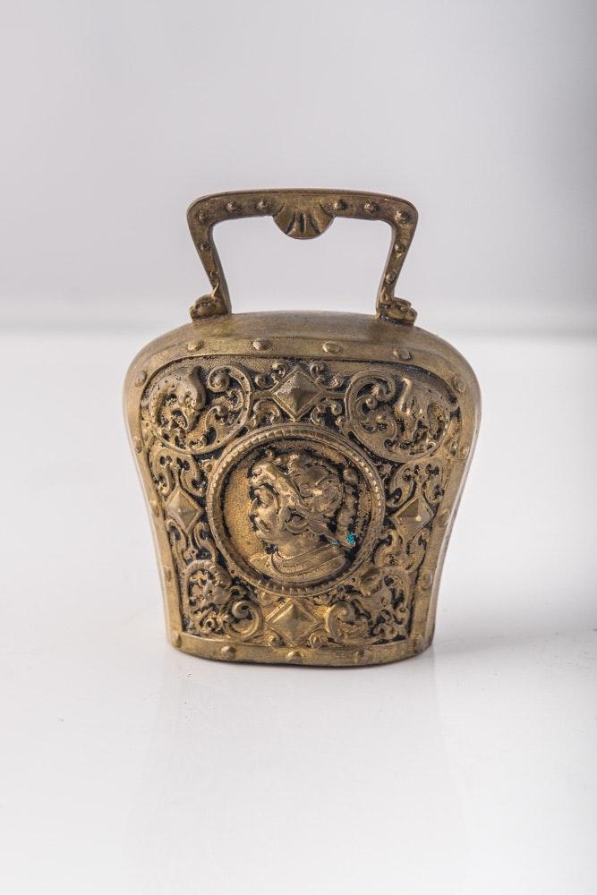 Antique Bronze D'Ore Bell