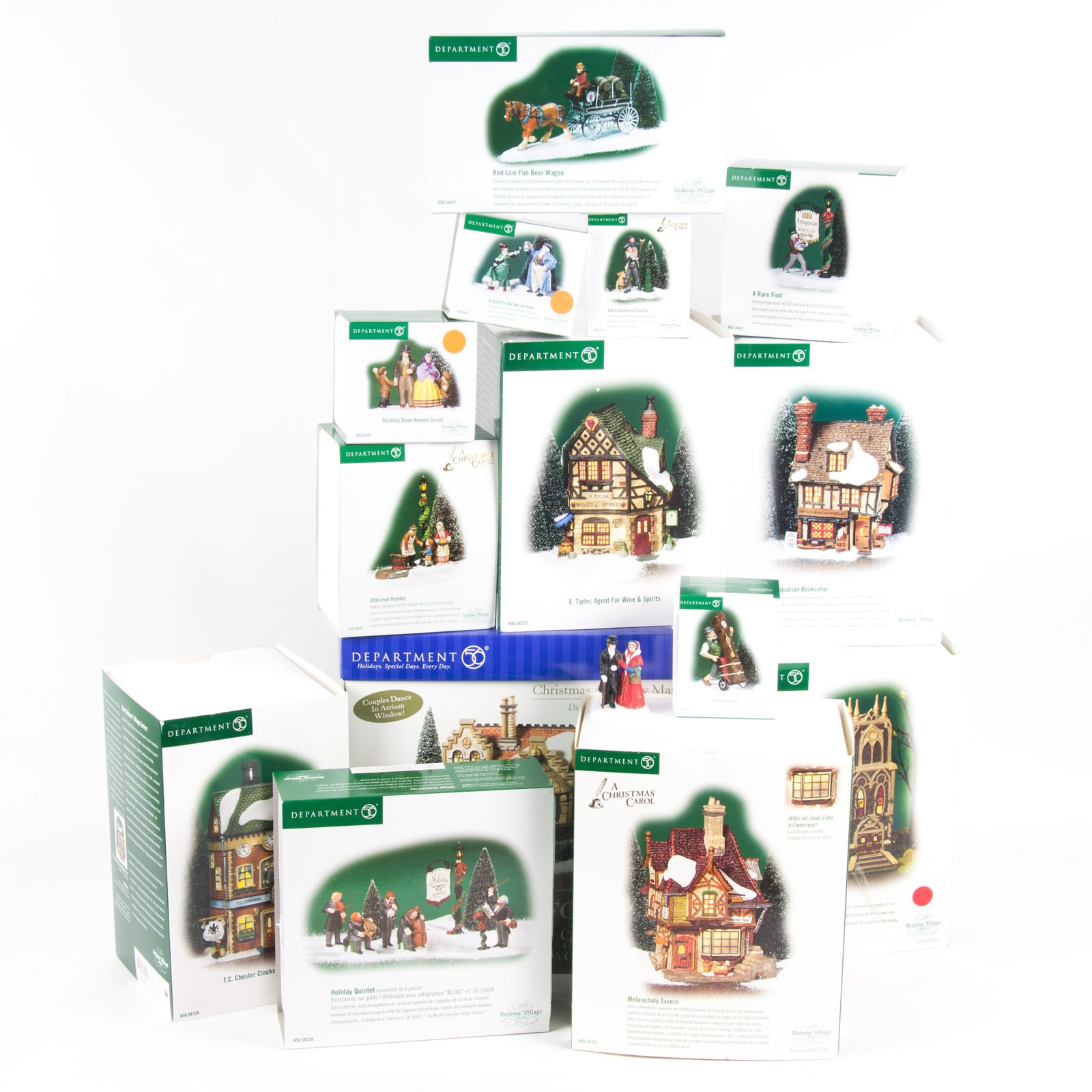Department 56 Christmas Carol Village and More