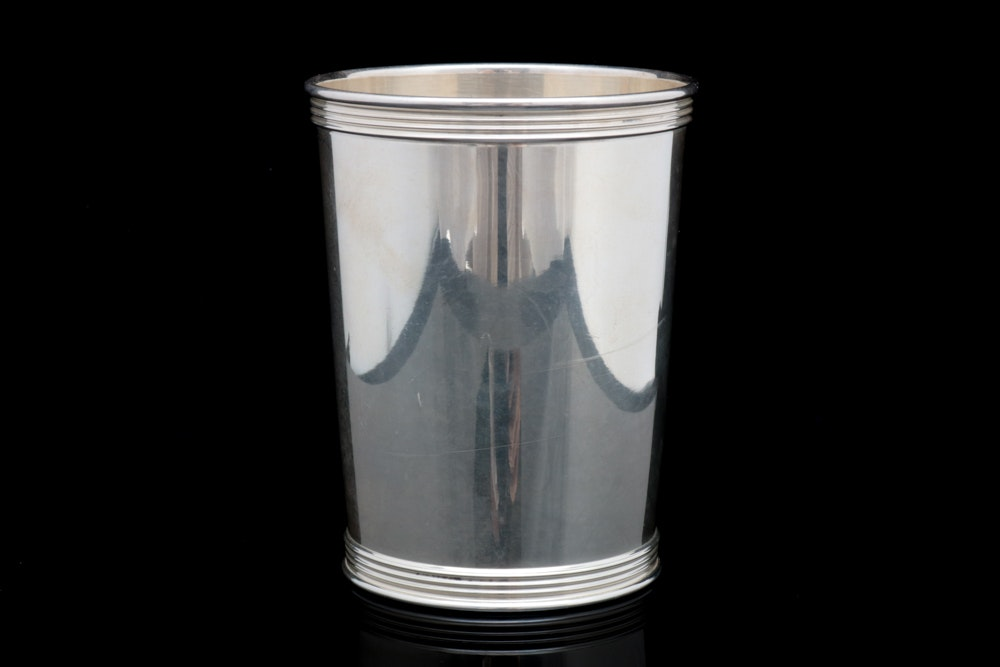 Sterling Silver Julep Cup by Manchester Silver Co.