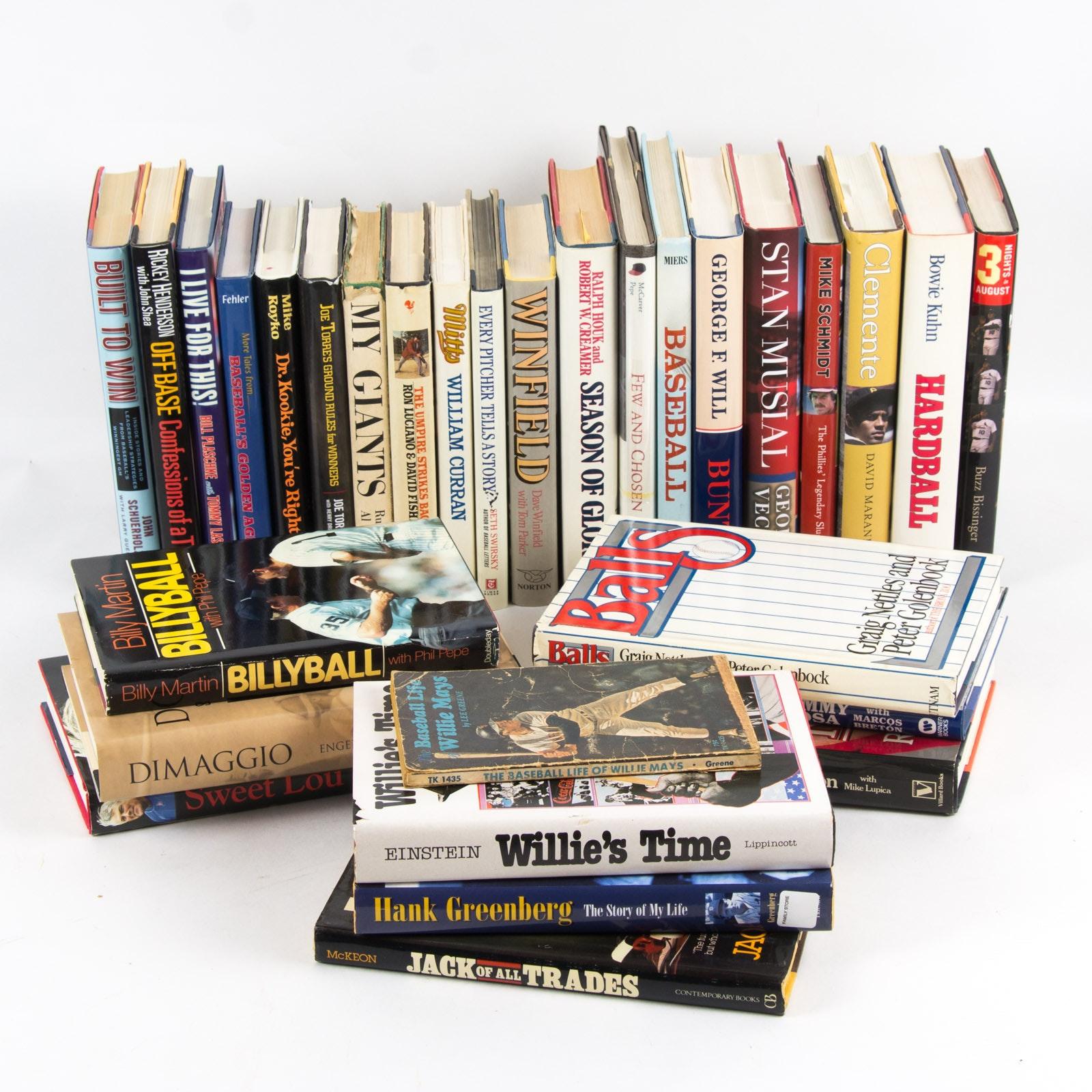 Baseball Themed Book Assortment