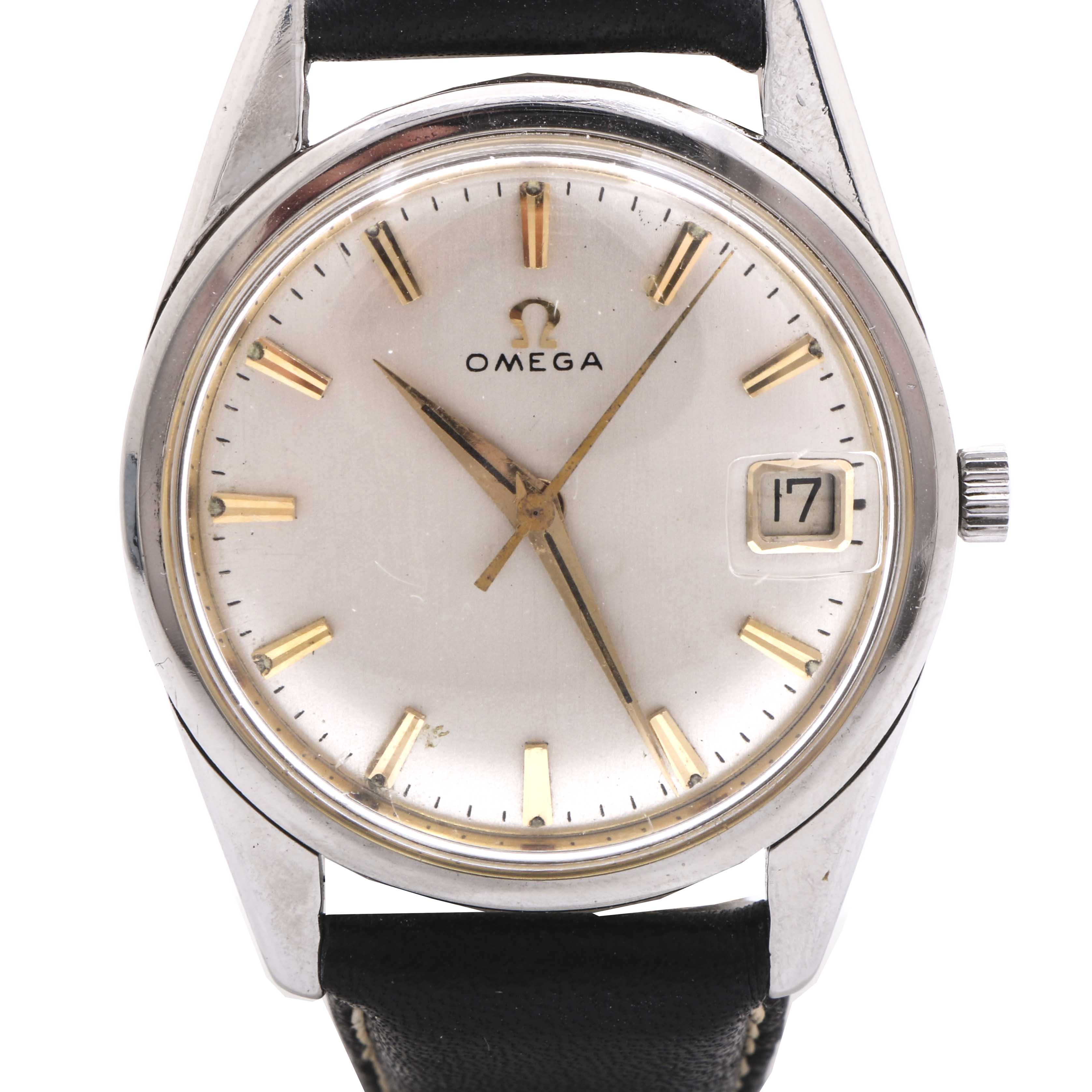 Vintage Omega Seamaster Automatic Wristwatch