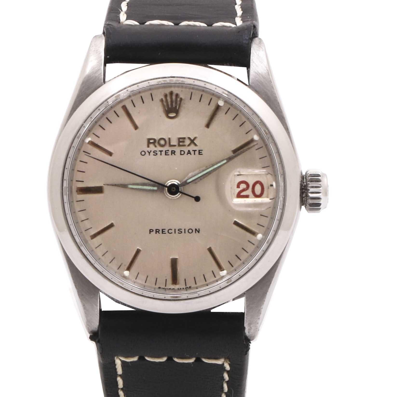 Vintage Rolex Oyster Date Precision Wristwatch