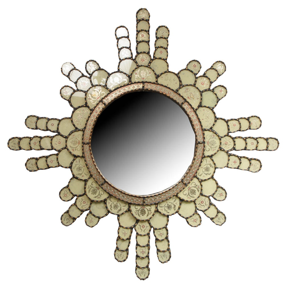 Hand-Crafted Decorative Wall Mirror