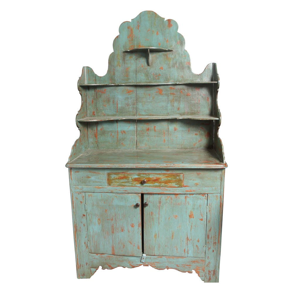 Rustic, Distressed Sideboard Cabinet