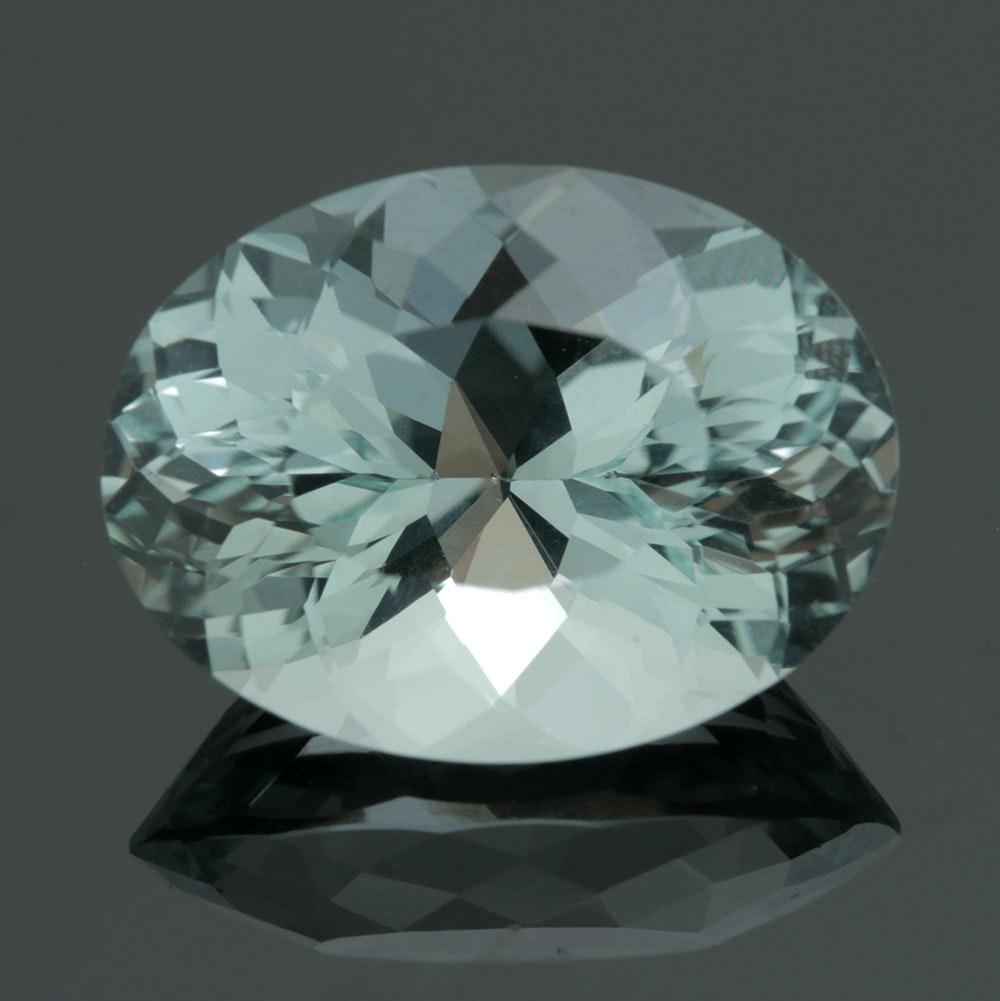 Loose 8.98 CT Aquamarine Gemstone