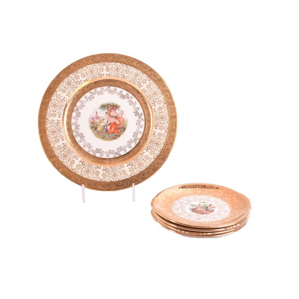 Paden City Pottery 22K Gold Trimmed China