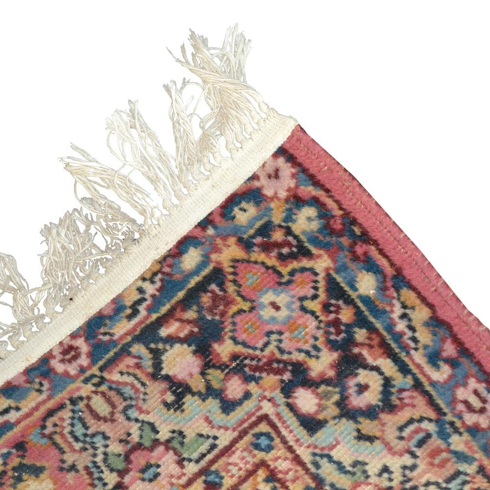 """Vintage Power-Loomed Karastan """"Tudor"""" Wool Area Rug"""
