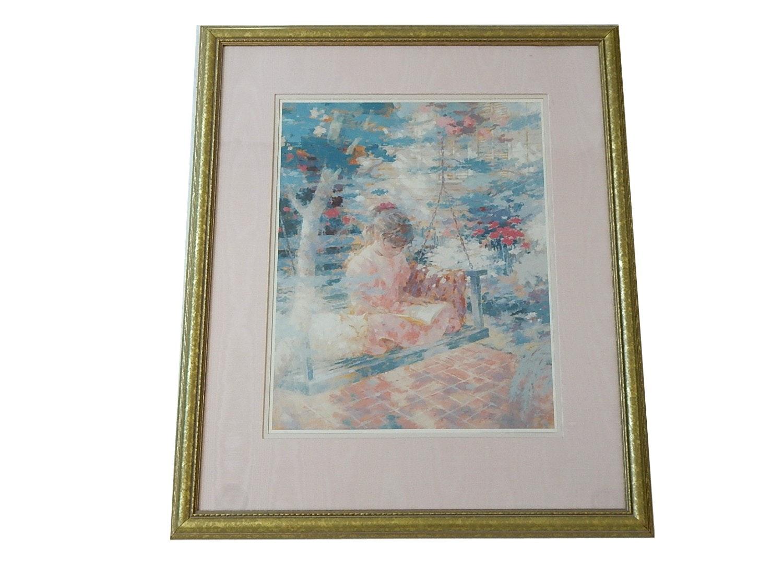 Framed Harrison Rucker Print