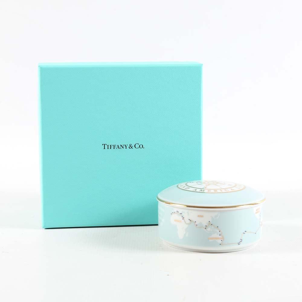 Holland America Line Trinket Box by Tiffany & Co.