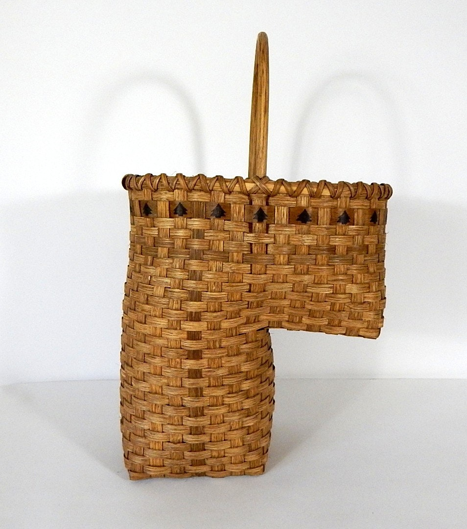 Handmade Adele Schaper Stair Basket