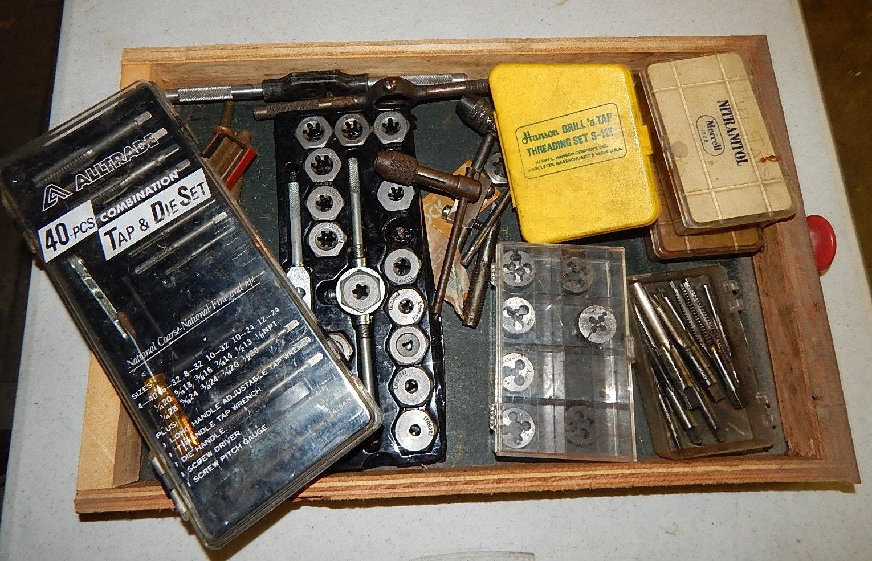 Vintage Tap and Die Accessories