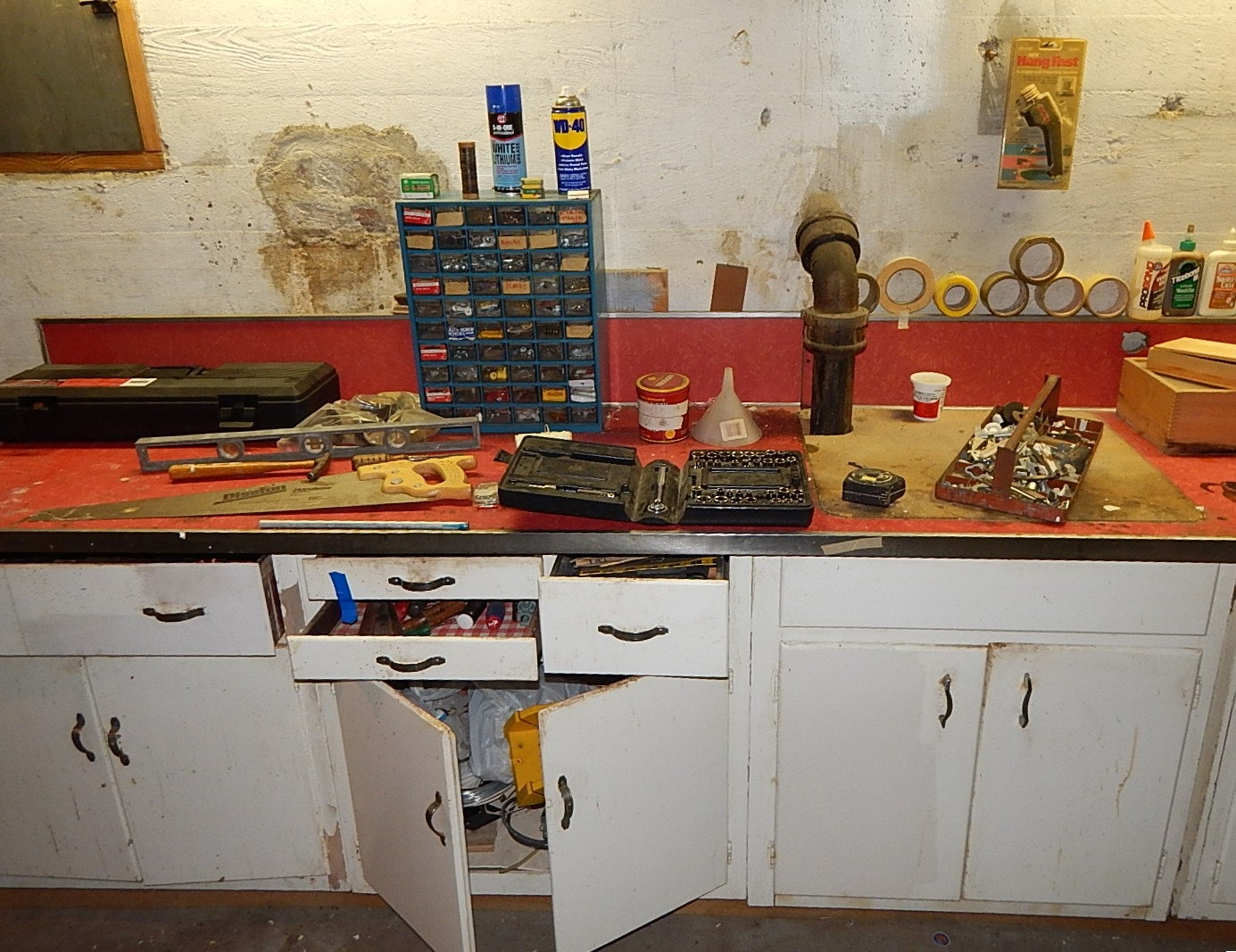 Tool Cabinet Cleanout