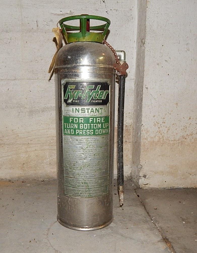 Vintage Fyr-Fyter Extinguisher