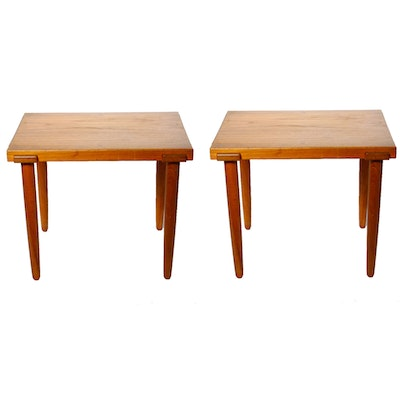 Pair of Danish Modern End Tables