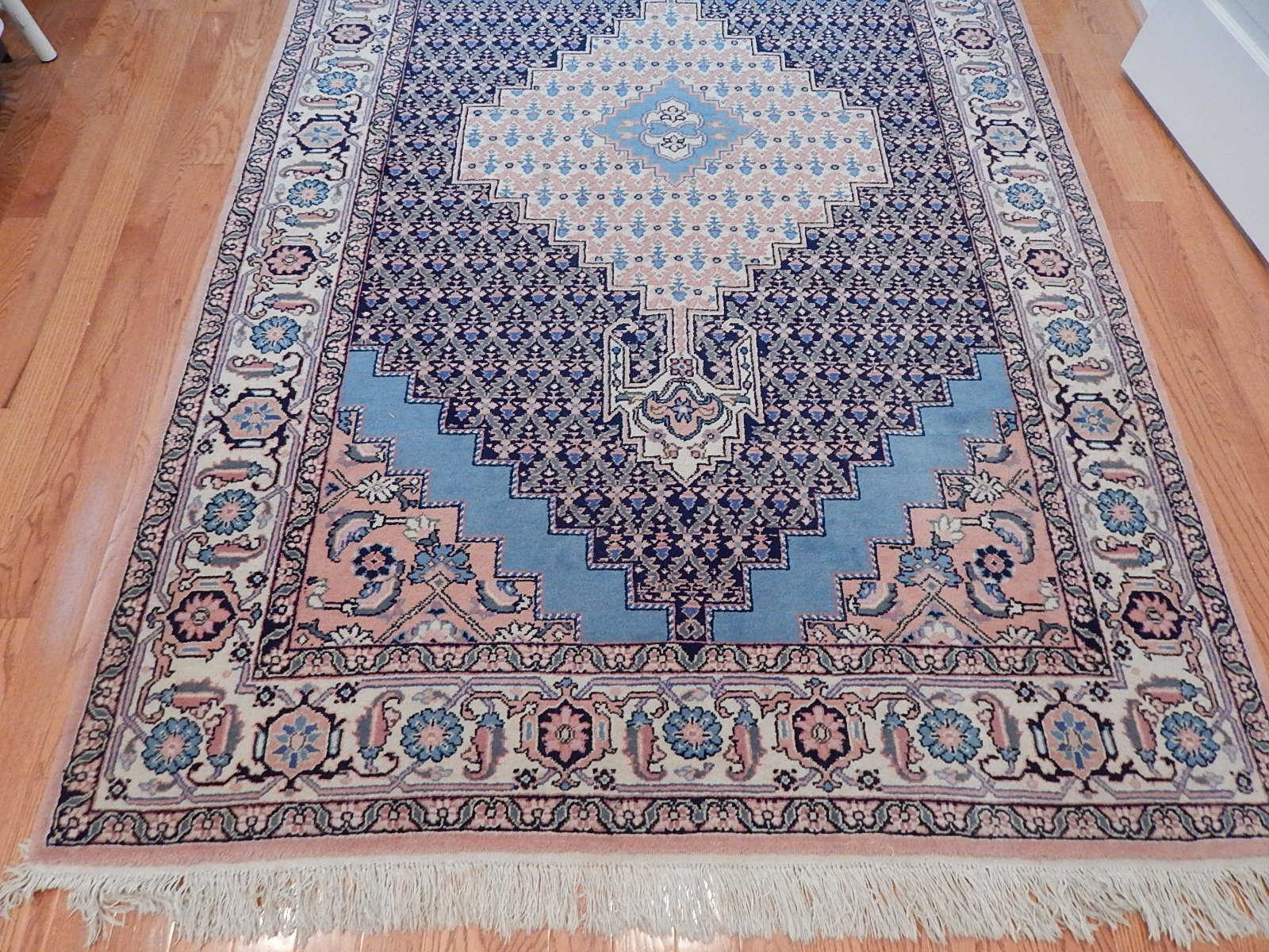 Hand-Knotted Afshar Wool Area Rug
