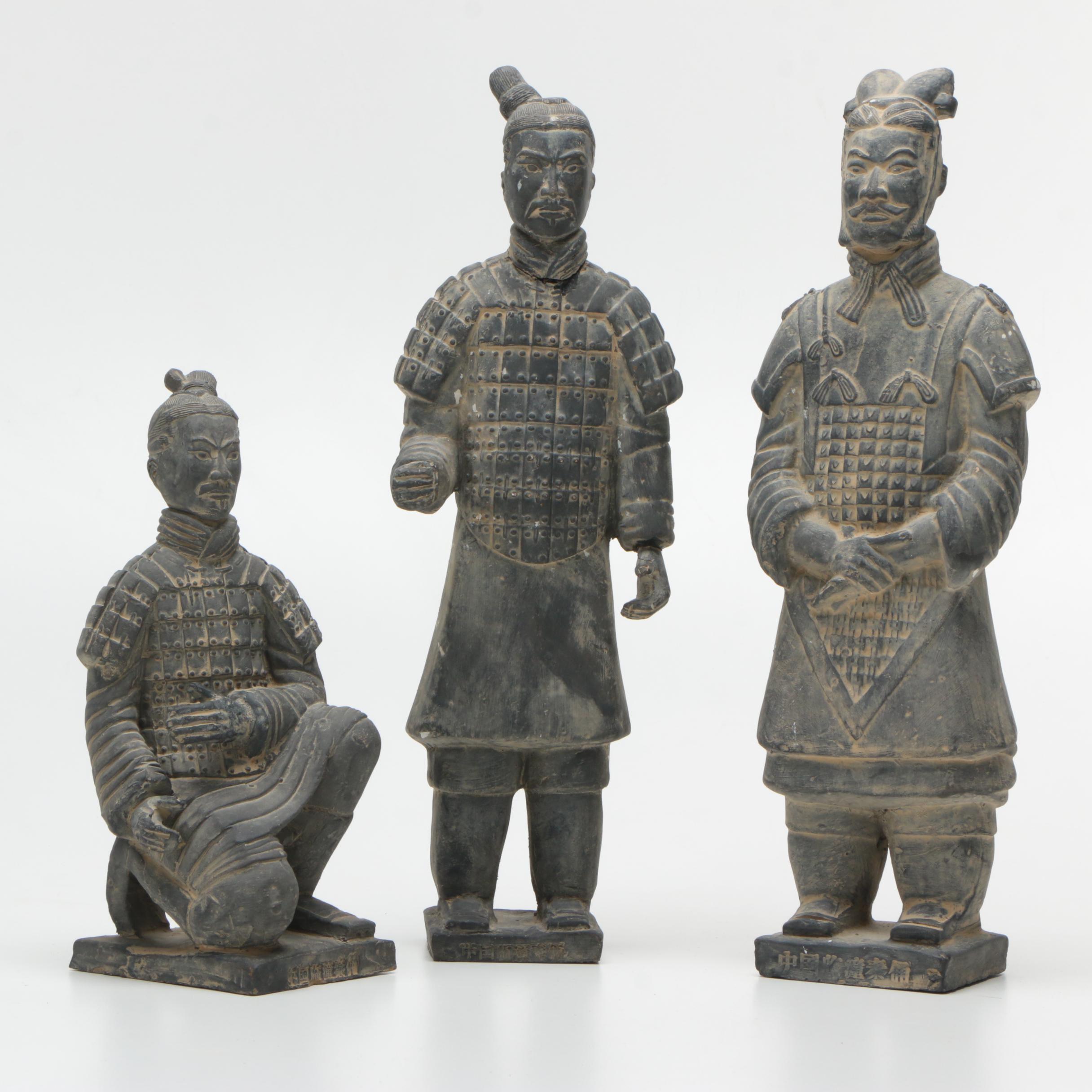 Terracotta Army Replica Figurines