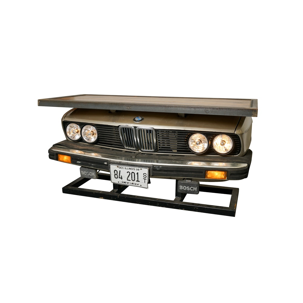 Custom BMW Grill Desk by John Spack