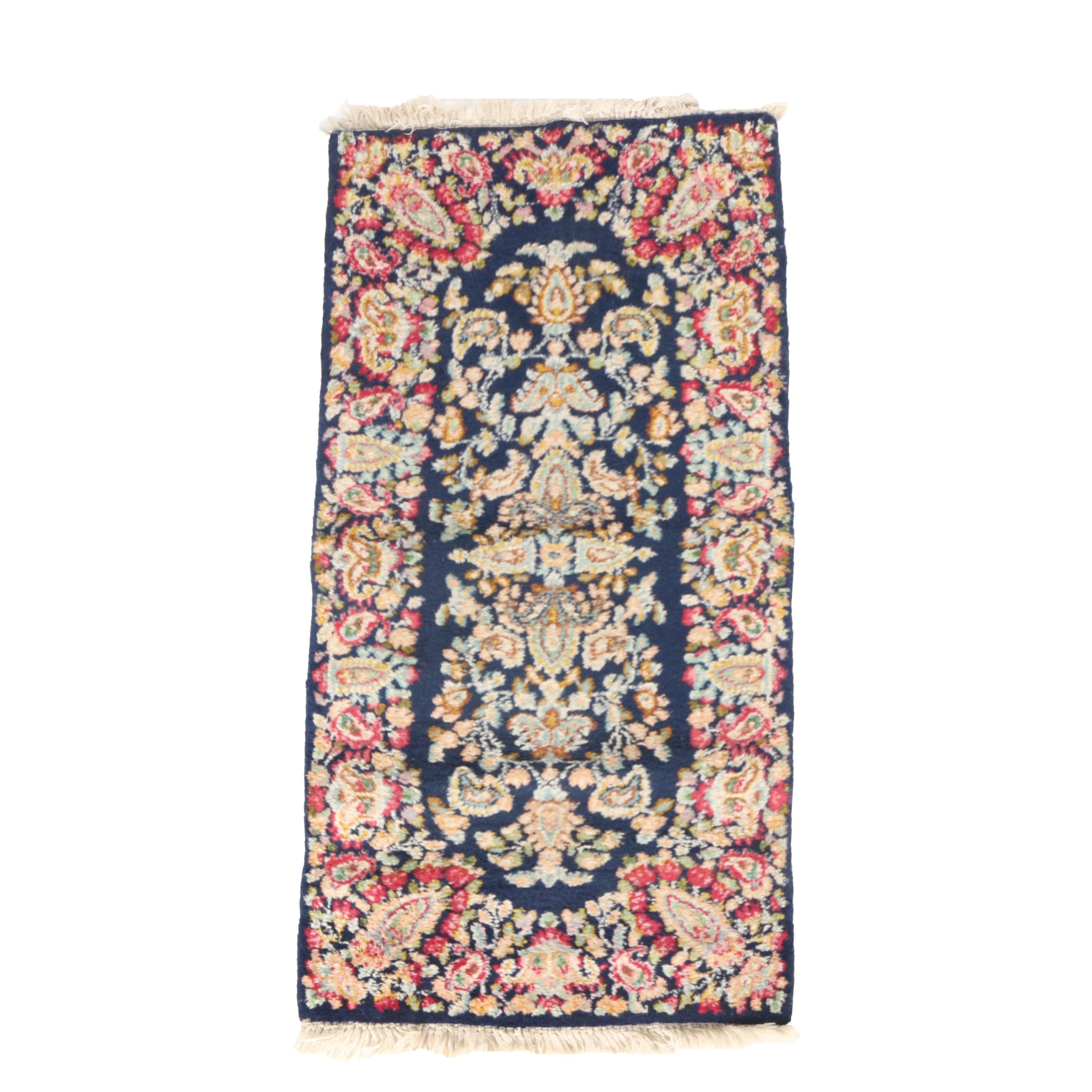 Hand-Knotted Indo-Persian Accent Rug