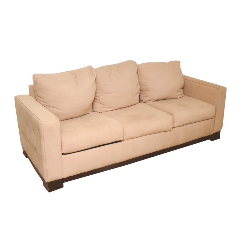 Contemporary Upholstered Sleeper Sofa