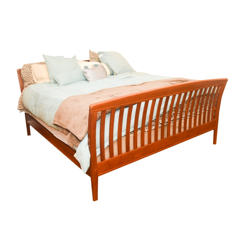 Contemporary Style King Size Bed Frame