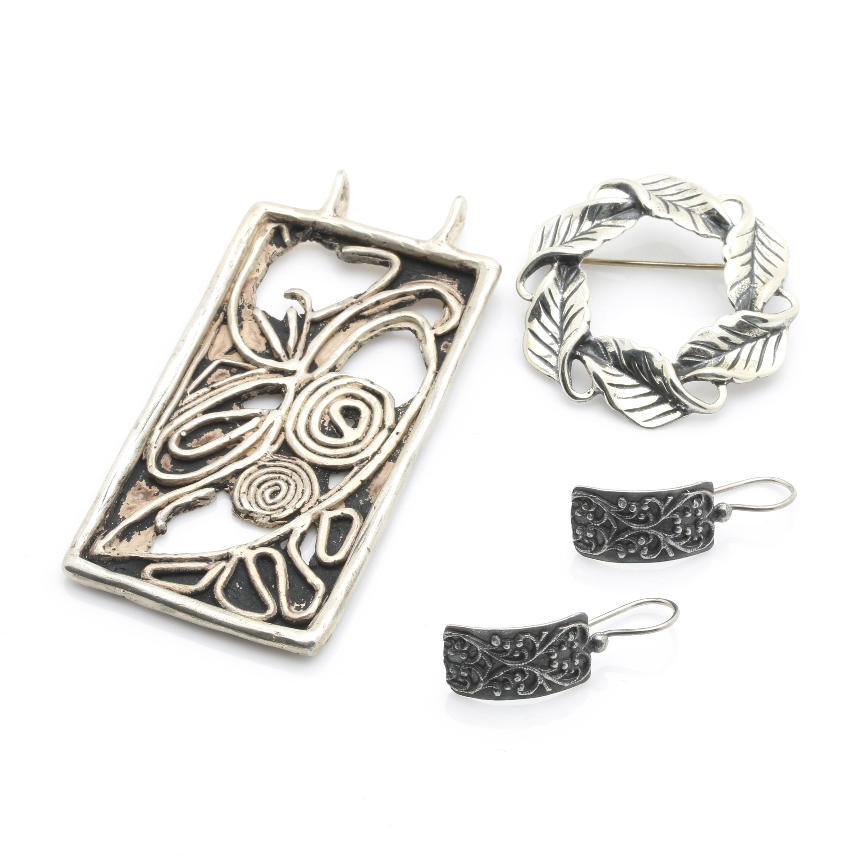 Sterling Silver Jewelry Including Danecraft and Silpada
