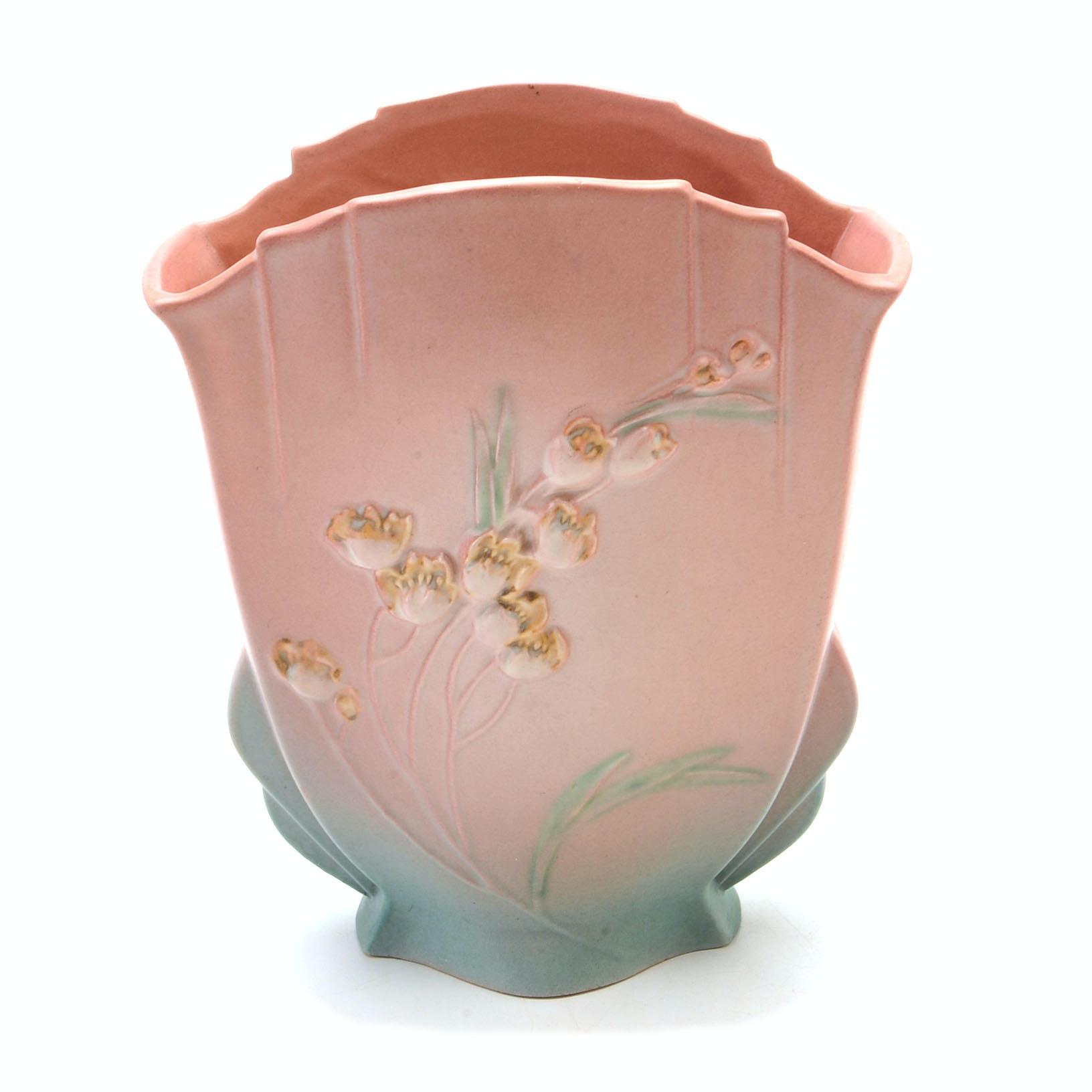 "Vintage Roseville Art Pottery ""Ixia"" Vase"