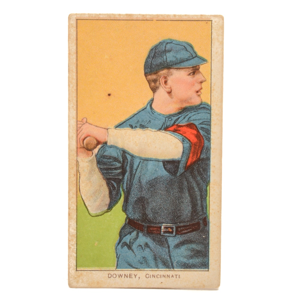1909-1911 Thomas Downey Reds Piedmont Tobacco Baseball Card