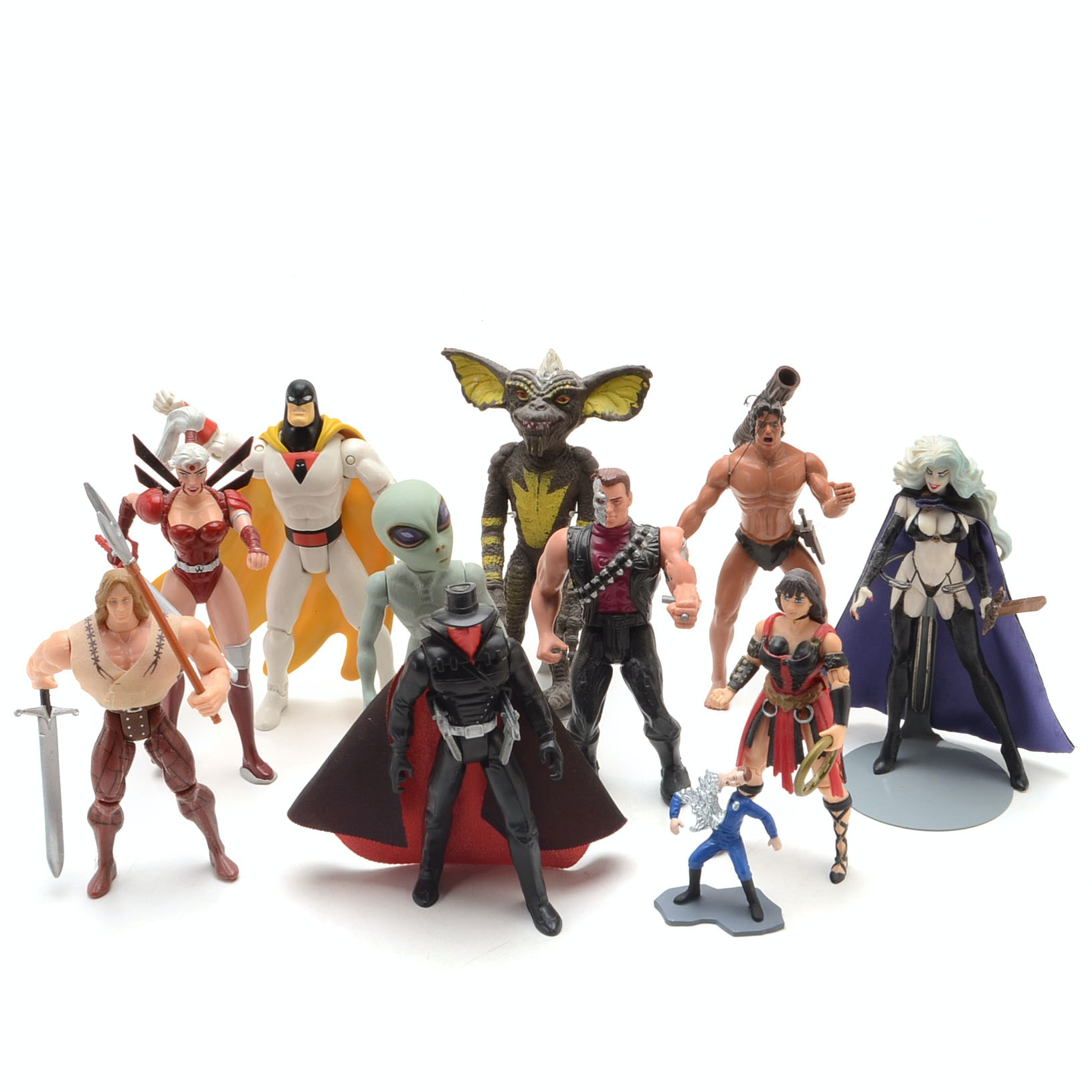 Collection of Mixed Action Figures
