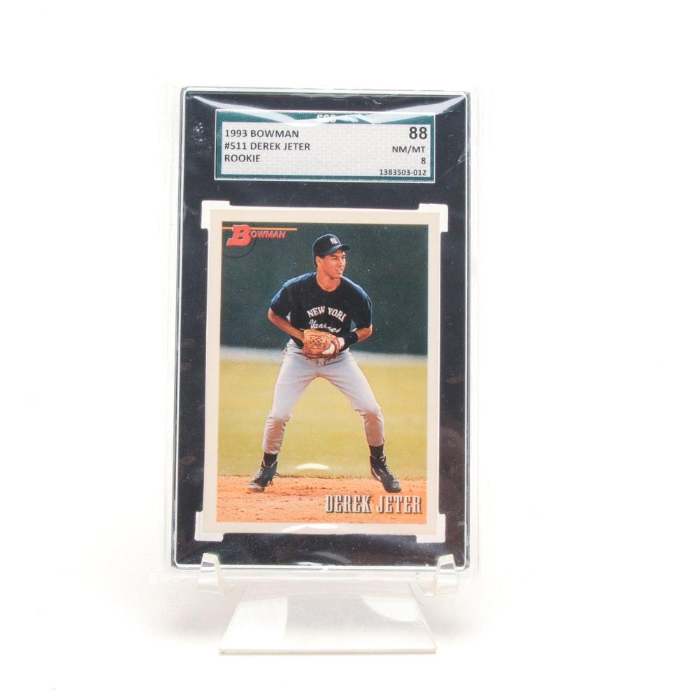 1993 Derek Jeter New York Yankees Graded Rookie Card