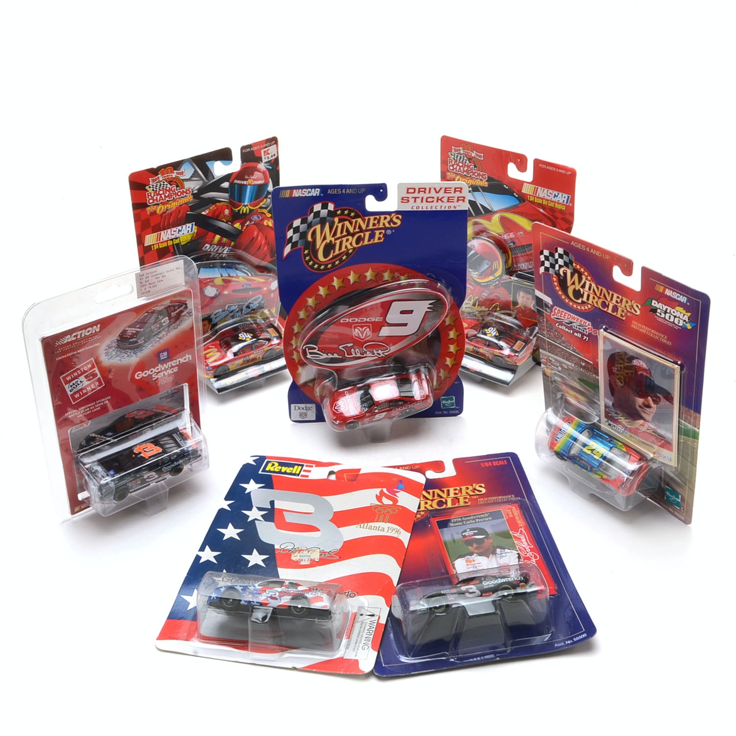 Collection of Nascar Die Cast 1:64 Scale Cars