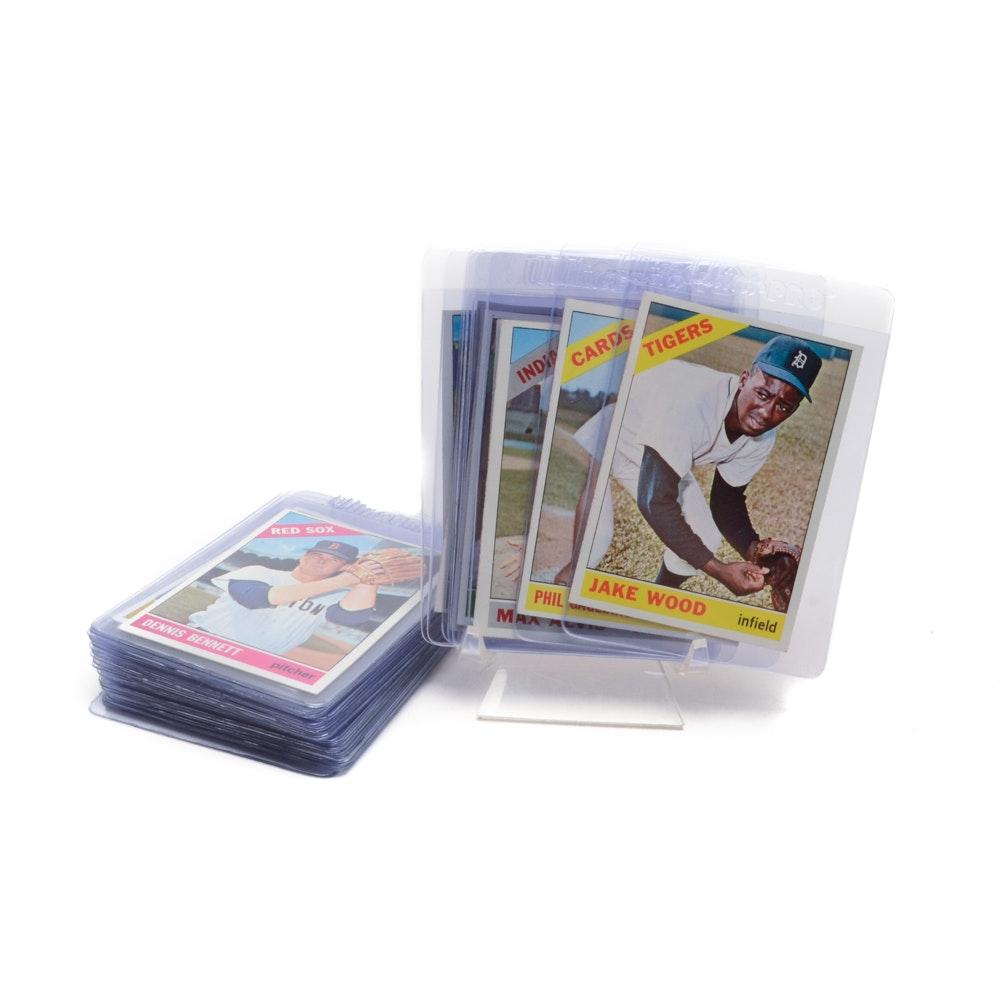 Thirty 1966 Topps Baseball Cards