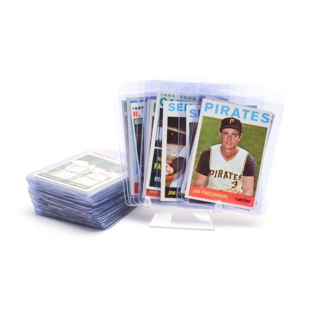 Forty-Six 1964 Topps Baseball Cards