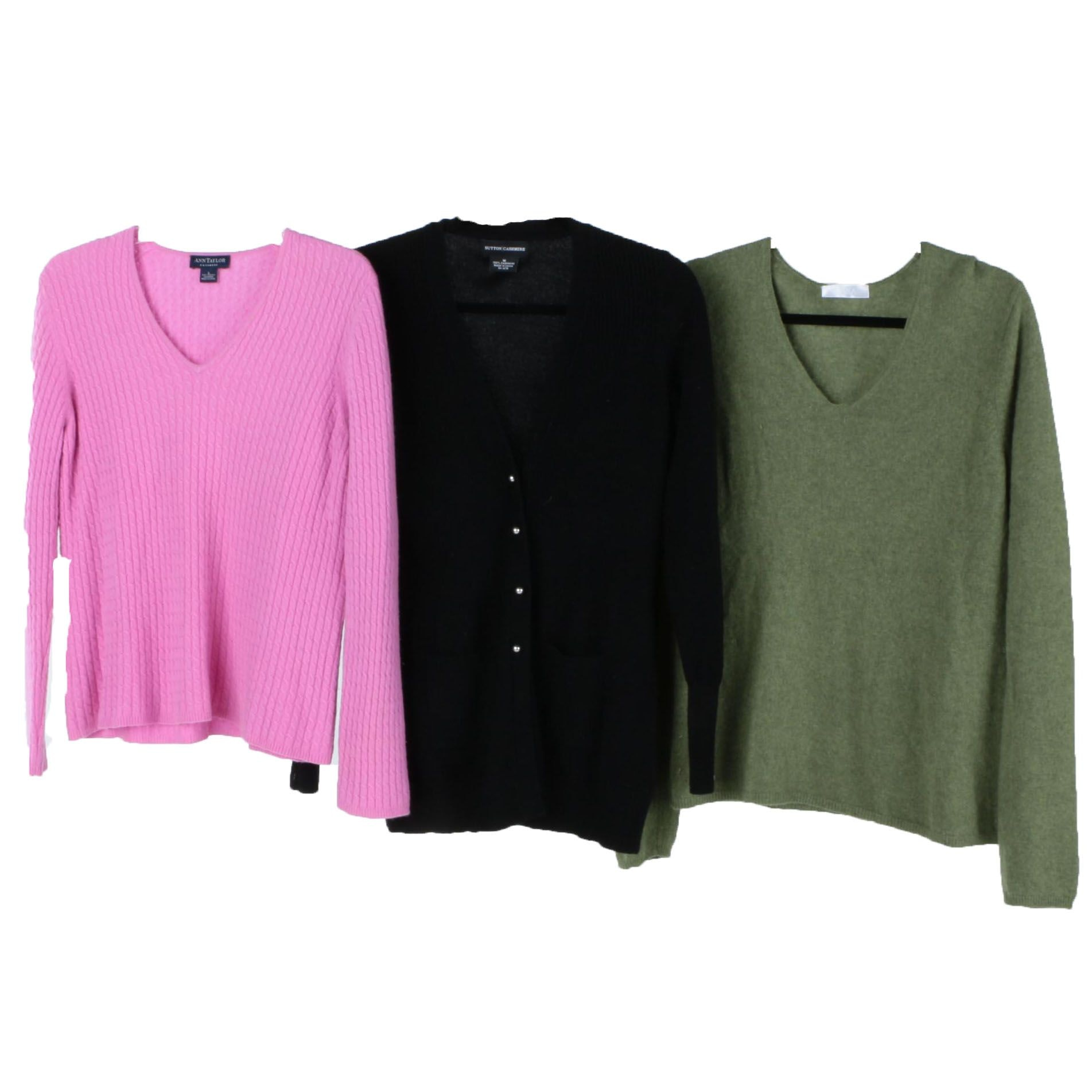 Women's Cashmere Sweaters Including Keira