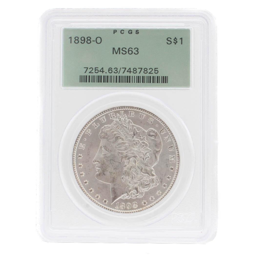 1898-0 Morgan Silver Dollar