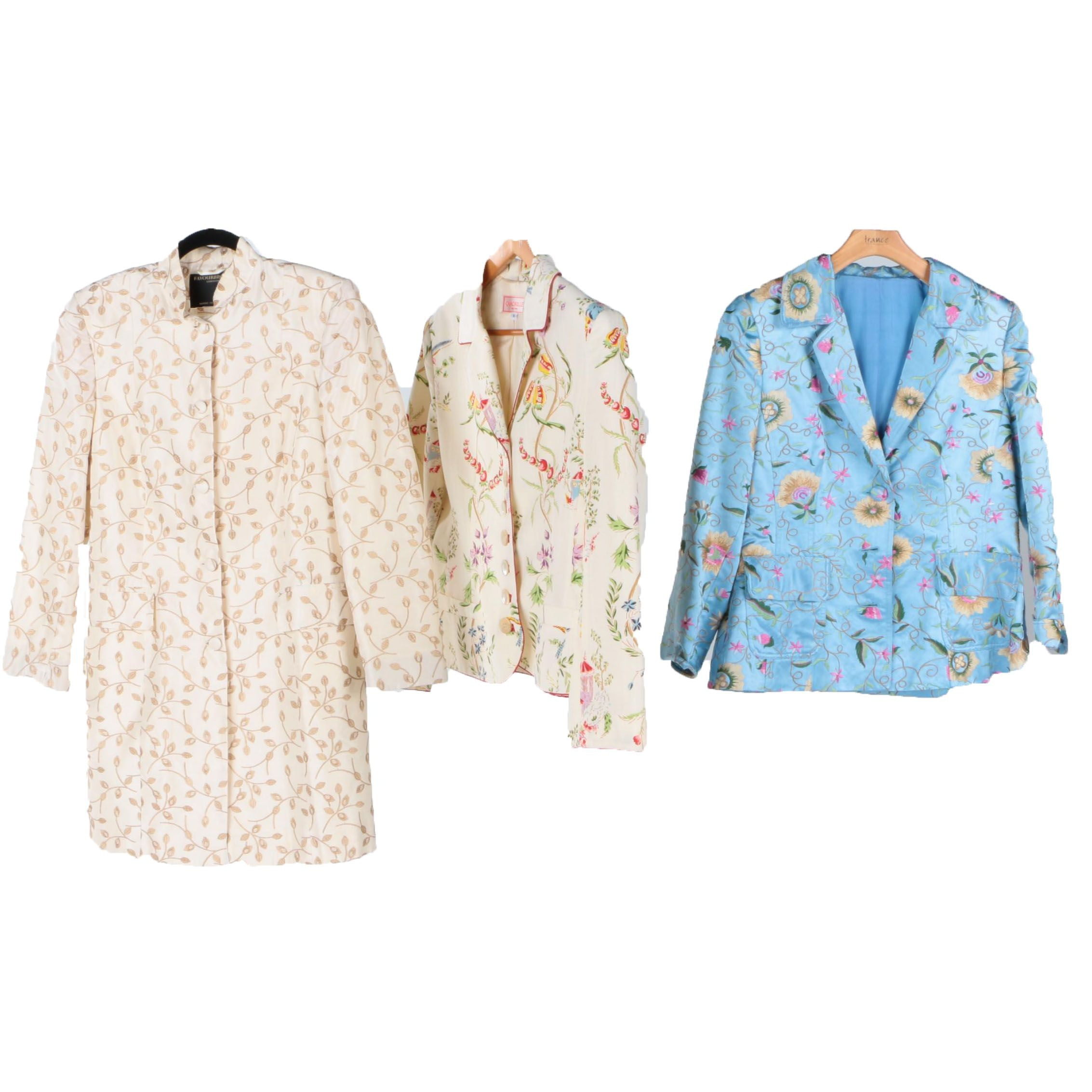 Women's Jacket and Blazers Including Quadrille