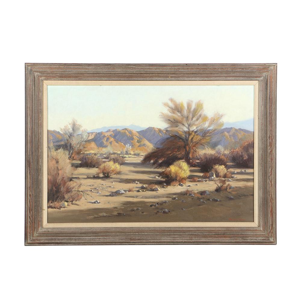 Darwin Duncan Oil Painting on Canvas Desert Landscape