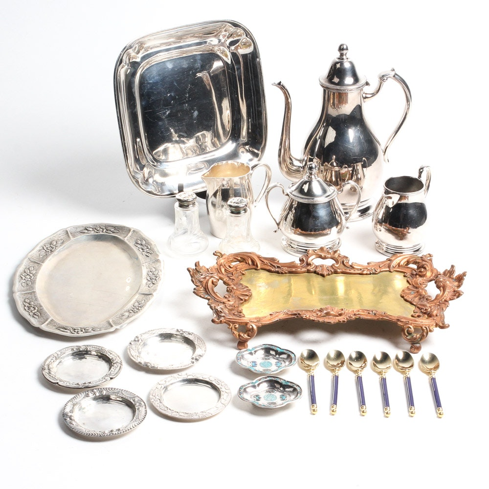 Metal Serveware Assortment